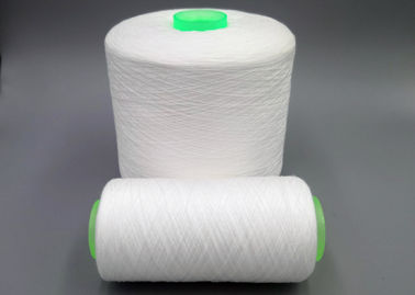 Dyeing Tube Polyester Twisted Yarn 40s/2 60s/3 Raw White Polyester Thread For Sewing Machine