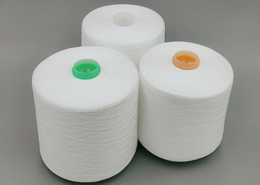 Optical White Raw White And Colored 100 Polyester Spun Yarn Ne50/2 50/3